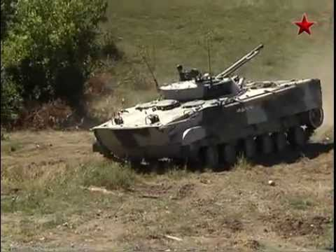 BMP-3 Amphibious Armored Vehicle - YouTube