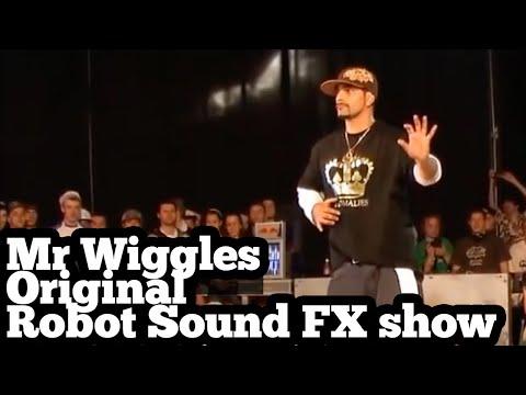 Mr Wiggles  the original Robotic Sound FX case  2008