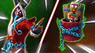 "Top 5 BEST ""KRAMPUS"" SKIN + BACK BLING COMBINATIONS in Fortnite"