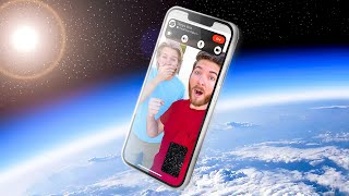 We Sent an iPhone 13 into SPACE... It Worked!