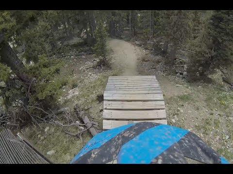 Gnarly DH on a Trail Bike - Angel Fire Bike Park
