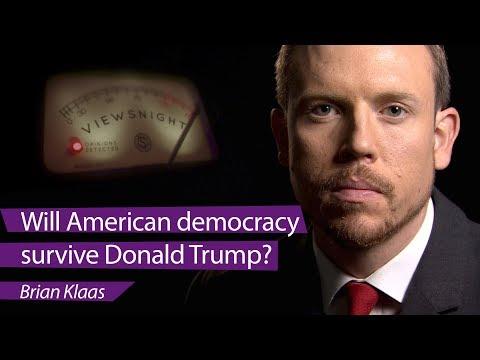'Will American democracy survive Donald Trump?': Brian Klaas - Viewsnight
