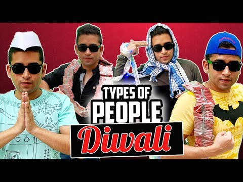 TYPES OF PEOPLE ON DIWALI || DIWALI 2019 SPECIAL 🔥😍 COMEDY UNLIMITED 🤣🤣