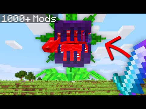 Minecraft, But I Downloaded 1000+ Mods...