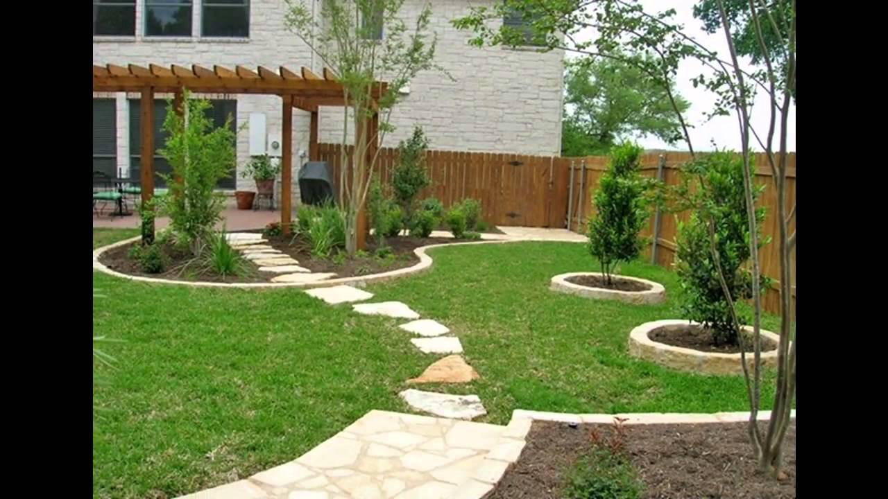 Garden Landscaping Design Decor Extraordinary Best Home Yard Landscape Design  Youtube Decorating Inspiration