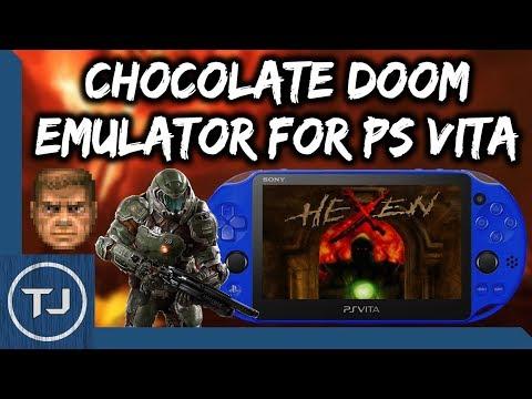 PS Vita Chocolate Doom Emulator! (Heretic/Hexen/Strife/Doom) - Tech