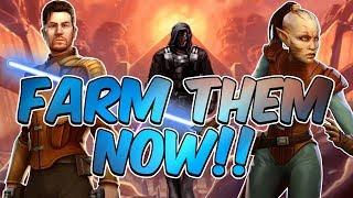 FARM FOR DARTH REVAN NOW!!! | Star Wars: Galaxy of Heroes