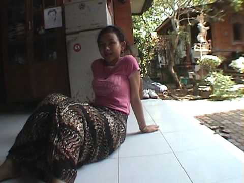 iPhone soft(Power Ubud) Yuliati dance training after rest
