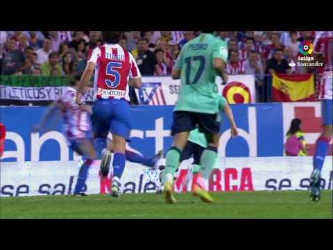 Highlights Atlético de Madrid vs FC Barcelona (1-2) 2010/2011