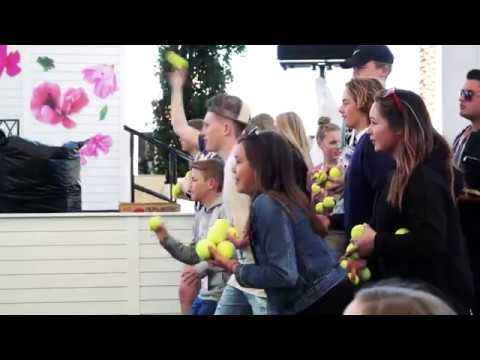BNP Paribas Open 2018: Shelby Rogers Visits Ball Kids