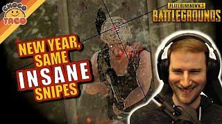 New Year, Same Inṡane Sniping Skills - chocoTaco PUBG Solos Gameplay