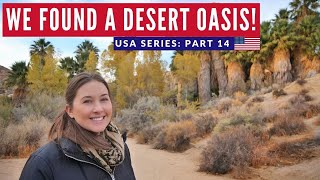 VANLIFE Final Day? | Epic Desert Oasis | Joshua Tree California Road Trip | Brits in America Part 14