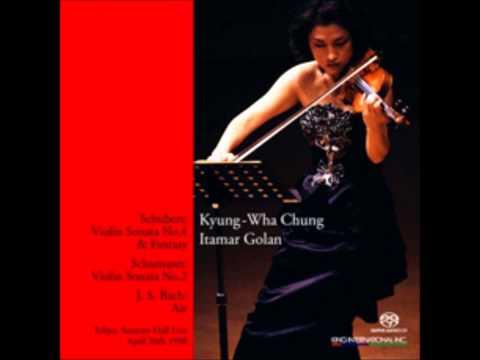 Kyung wha chung plays schubert fantasy (live in suntory hall)