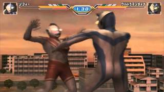 Ultraman Zoffy Battle Mode - Ultraman Fighting Evolution 3