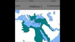 Das Osmanische Reich(Türkei) von Jahr zu Jahr
