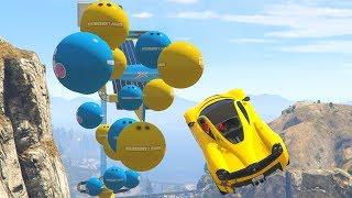 DODGE THE BALLS! - GTA 5 Funny Moments #734