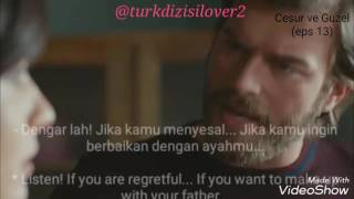 cesur ve guzel 13 i ll sign the marriage agreement if you want it indonesian english sub