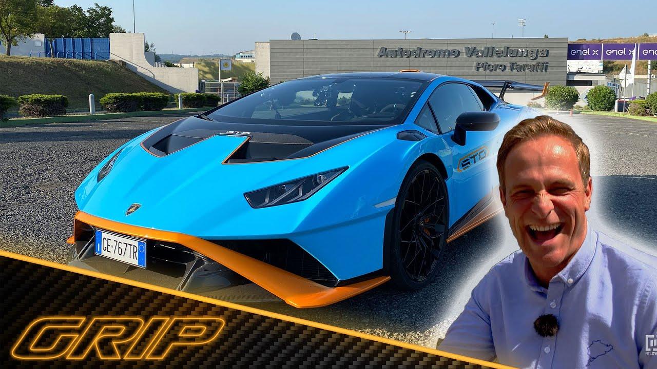 Download Matthias im Lamborghini Huracán STO - erster Ritt auf dem Bullen 🔥🐂😎 | GRIP - Das Motormagazin