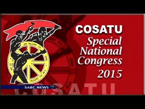 Cosatu Special National Congress, 14 July 2015
