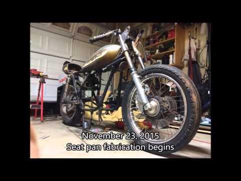 1975 Kawasaki H1 Cafe Racer Project Part 1
