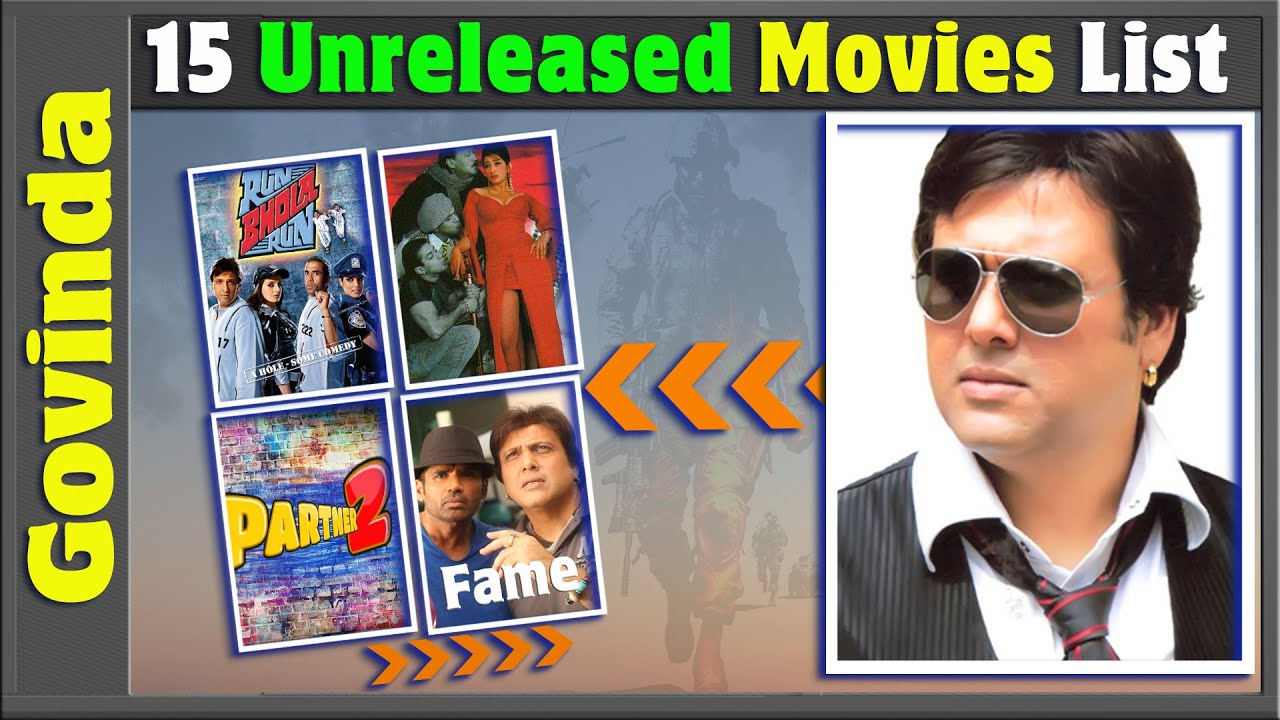 Download Govinda 15 Incomplete or Shelved Films | Govinda Unreleased Movies List | Bollywood Films.
