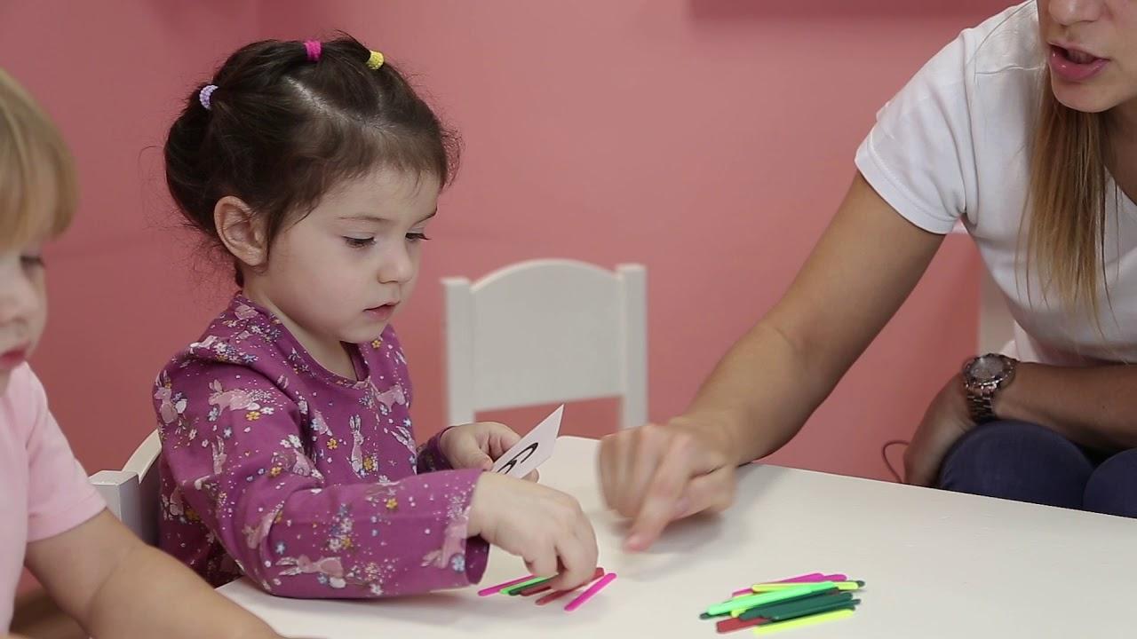 Занятие для детей 3-4 лет №14 | Онлайн детский клуб «Лас ...