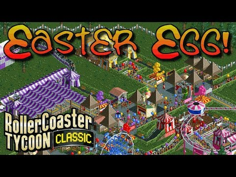 Is this the world's greatest Easter egg? | Rollercoaster Tycoon Classic | Easter Special