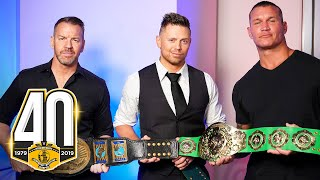 Intercontinental Champions roundtable interview with Randy Orton, The Miz & Christian