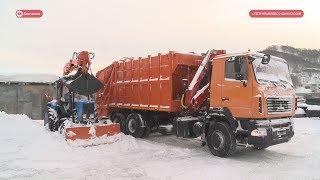 Новая мусоровозная техника.