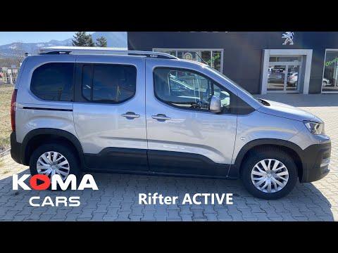 Peugeot Rifter Active - detail walkaround / trunk / infotainment / dimensions / interior / exterior
