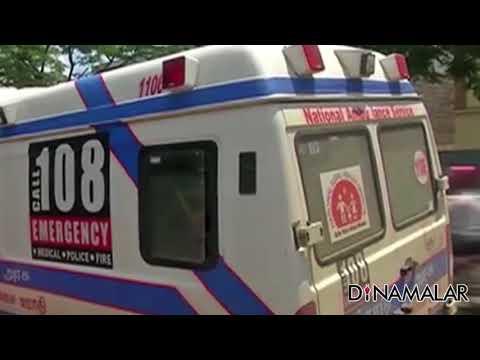 Ambulance Driver Stand on Strike
