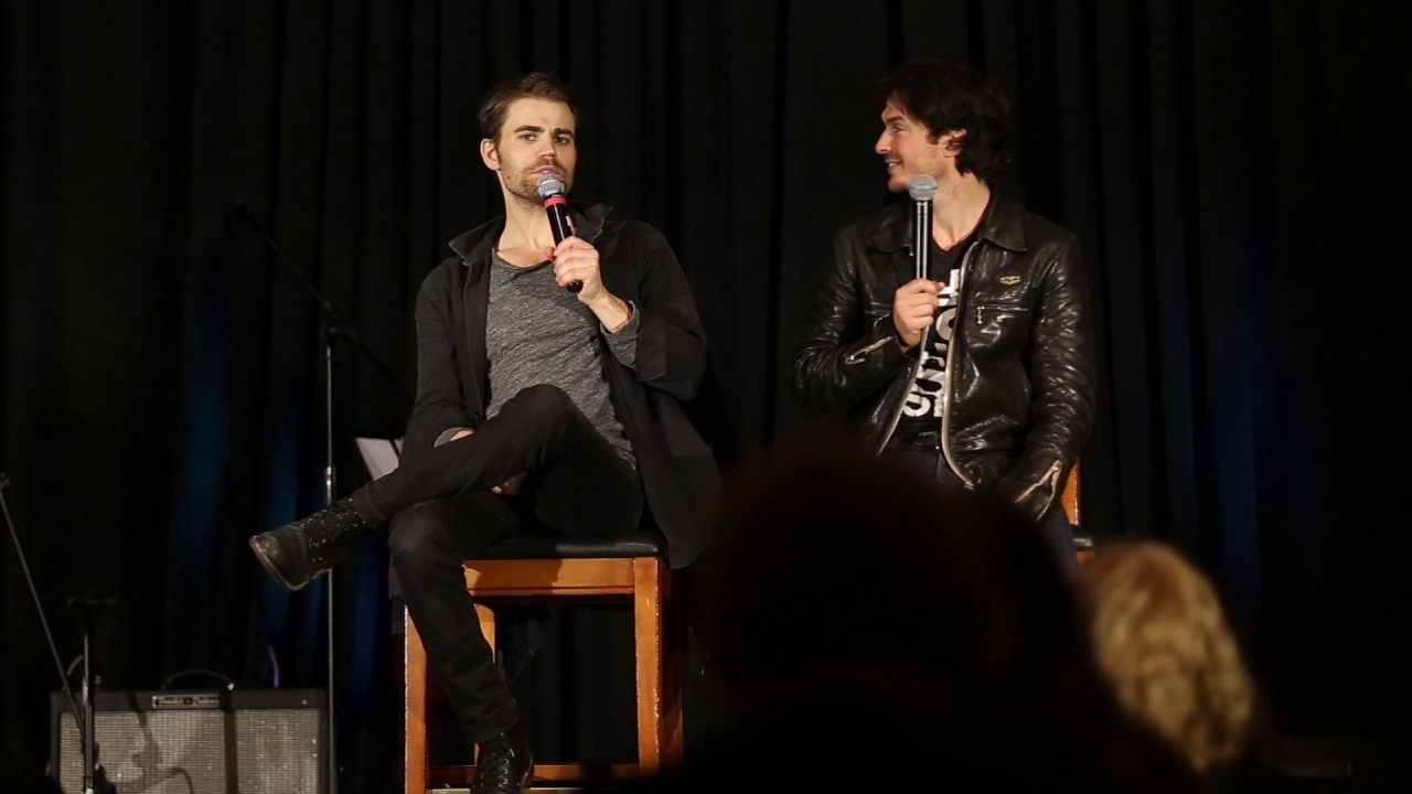 Paul wesley and ian somerhalder tvd chicago convention 2017 youtube paul wesley and ian somerhalder tvd chicago convention 2017 m4hsunfo