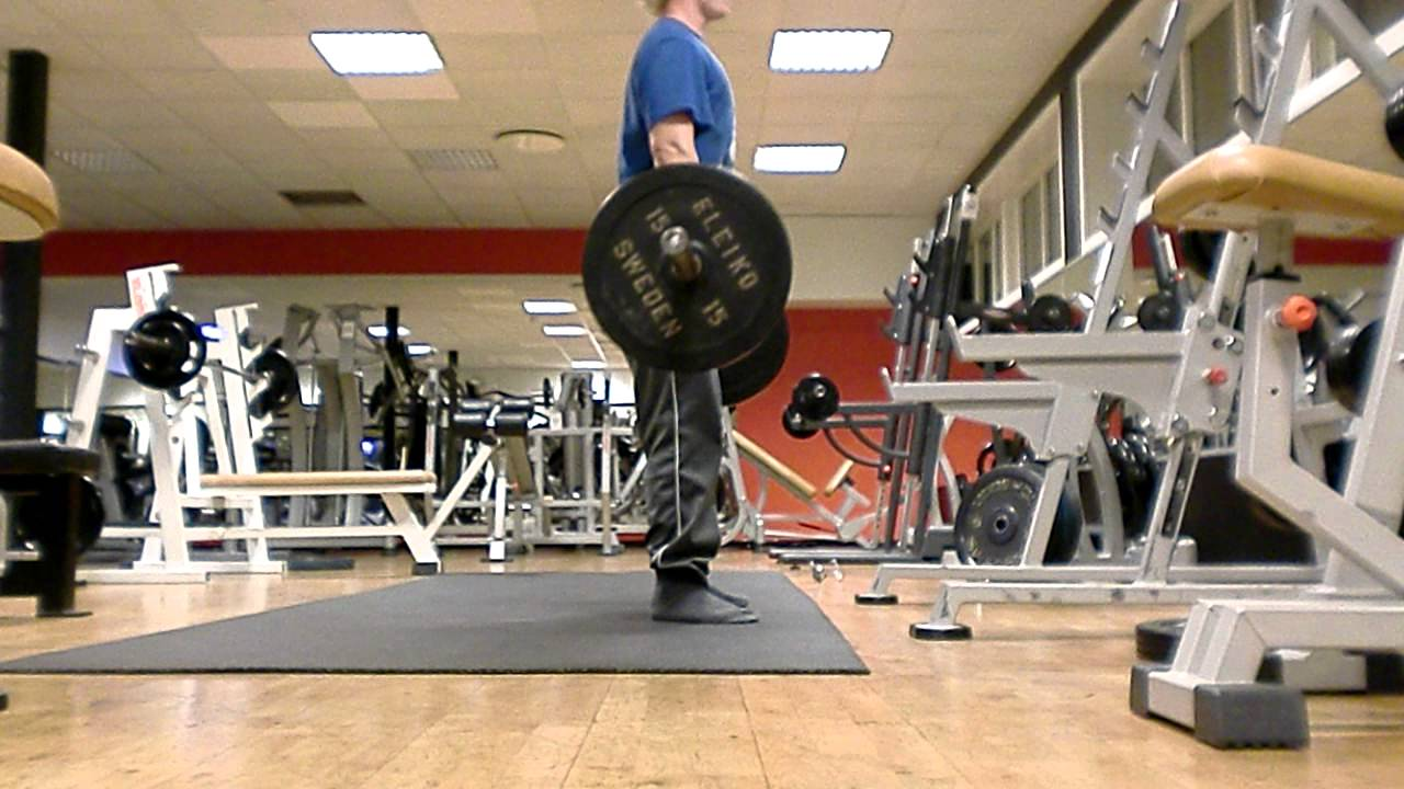 Power clean form check - sideview - YouTube