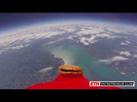 Sending the first Swiss burger into Space!
