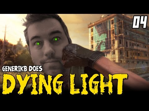 "DYING LIGHT Gameplay EP 04 - ""Genny's First Supply Run!!!"" Walkthrough Review 1080p"