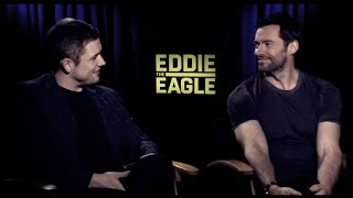 Taron Egerton & Hugh Jackman Funny Moments Part 1