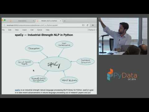 Patrick Harrison | Modern NLP in Python