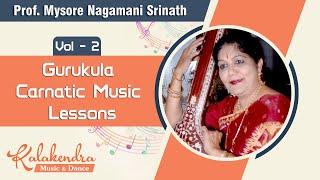 Gurukula - Carnatic Music Lessons Vol 2 - DVD