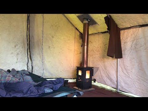 Wood Pellet Tent Stove