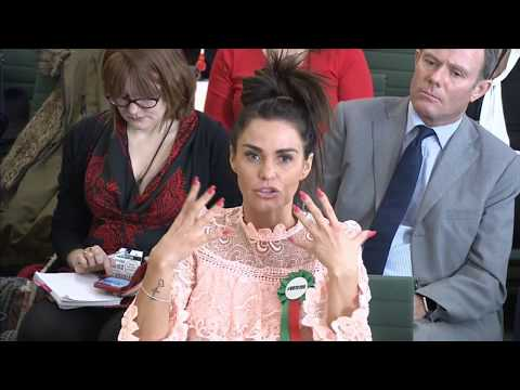 LIVE: Katie Price gives evidence to MPs about her and her son Harvey's experience of online abuse