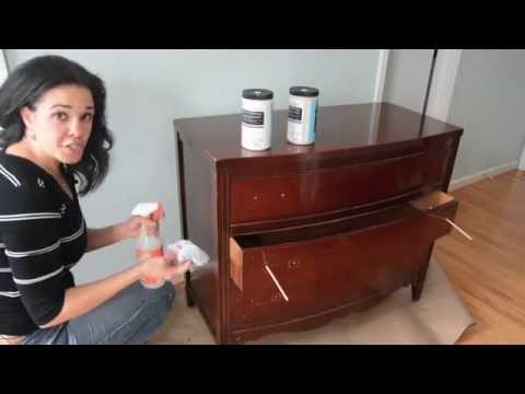 How To Paint A Dresser Using Beyond Paint Furniture