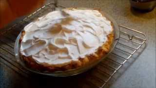 Making Orange Meringue Pie