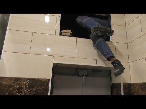 Восстановление школьного лифта-пищевоза