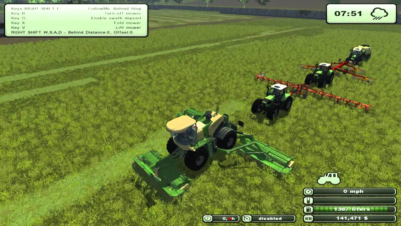 Ls 2013 Farming Simulator Farming Simulator 2013 Mod 1 Follow Me V0 68