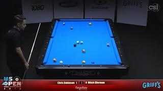2018 US Open 8-Ball Championship: Mitch Ellerman vs Chris Robinson