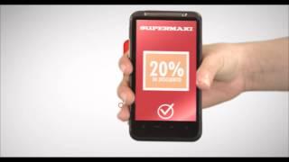 Aplicación móvil Supermaxi - Cupones de descuento