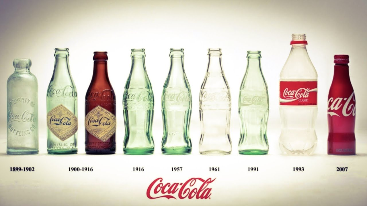Bottles old pepsi Pepsi Swirl