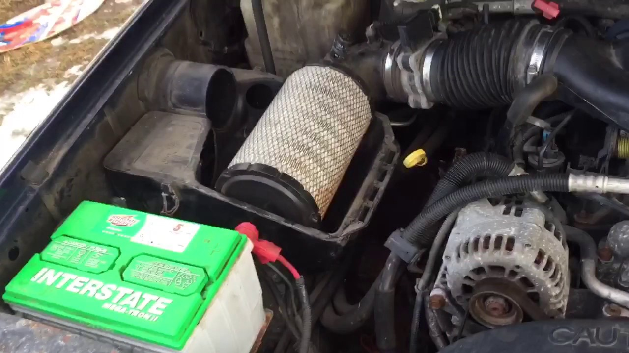 88 98 Chevy Truck Cold Air Intake Free Mod More Power