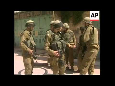 Israeli Army clashes with settlers in West Bank