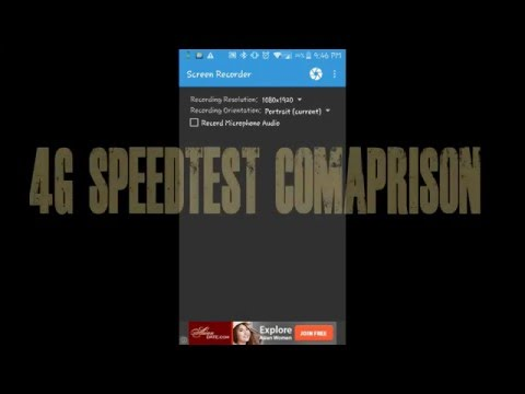 4G SPEEDTEST COMPARISON ( INDIA AND CANADA )